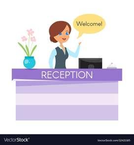 receptionist job opening