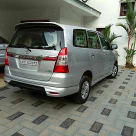 Rear bumper skirt of Innova. Good quality Fiber