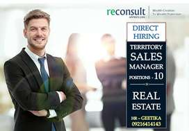 DIRECT HIRING SALES MANAGER ( MALE ONLY )