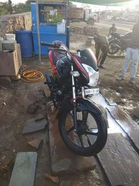 New bike good condition 5 years insurence