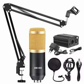 BM 800 Condenser Microphone Complete Kit Just Rs 5200