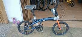 Sepeda lipat Odessy Pyton 20