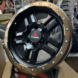 Velg 18 WILGROX USA 6Hole 9inch Fortuner Pajero Triton Hilux Dll