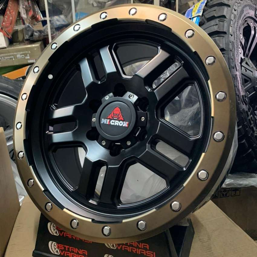 Velg 18 WILGROX USA 6Hole 9inch Fortuner Pajero Triton Hilux Dll 0