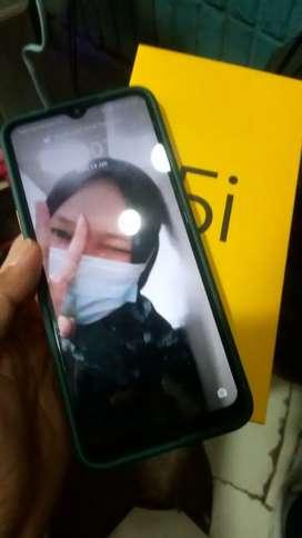 BT/TT Realme 5i 4/64 BT cari iphone/android atasnya normal fullse5