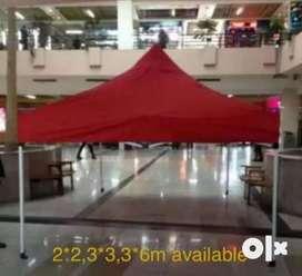 Tent folding type