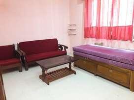 2 BHK furnished flat for rent in Porvorim Rs 20000/-.