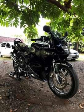 Ninja rr 150 (hitam)