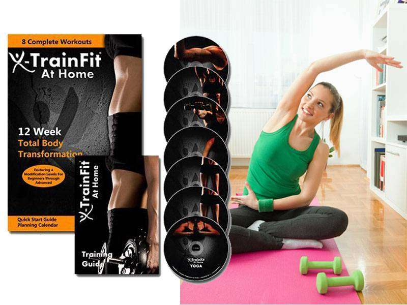 Weight Loss At Home Gym Exercise Training Fitness Guide with 8 DVDs