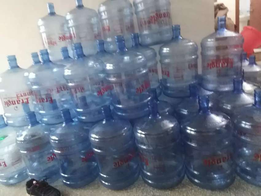 19 liter mineral water botal.                           550 0