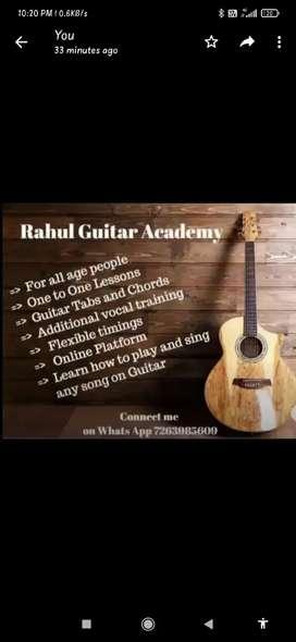 Professional Guitar Teacher