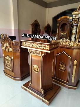 Ready Mimbar Musholla Kerajinan Jepara @51