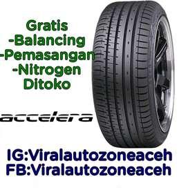 Ban Mobil Ring 17 Tubles Accelera PHI-R Ukuran 205 45 R17 Jazz Vios