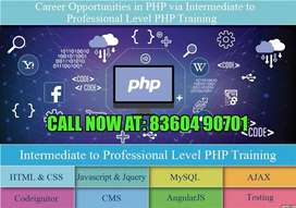 Php training course or web designing course