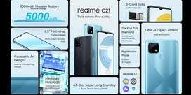 REALME C21 RAM 4GB ROM 64GB, Garansi Resmi 100%