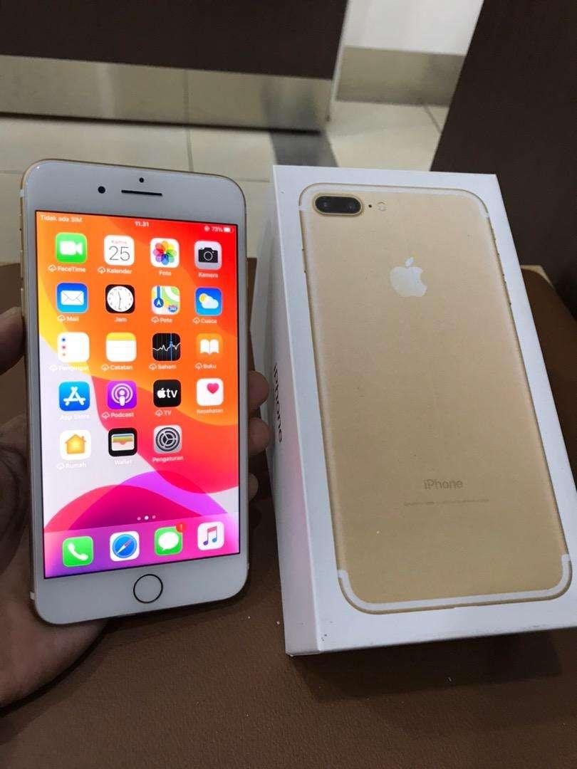 iPhone 7 Plus 32Gb Gold Ex Garansi Inter LL/A Mulus Normal Semua 0