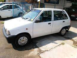 Maruti 800 in running condition for sale