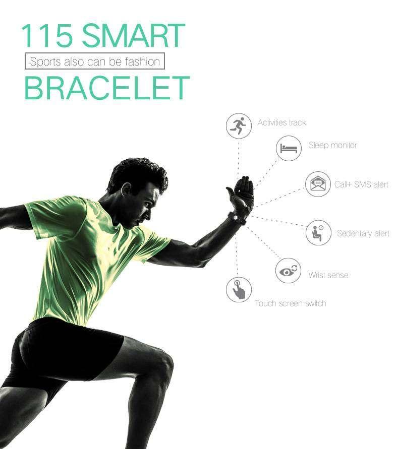 Smartwatch Bracelet Fitness Tracker 0