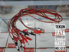 Kabel Multitester Multimeter 4mm Banana Plug ke Jarum Probe Tester