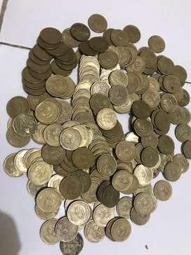 Uang Koin 500 Bunga Melati