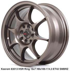 Toko Velg Mobil Murah KEEROM 83013 HSR R16X7 H8X100-114,3 ET42 SMBRZ