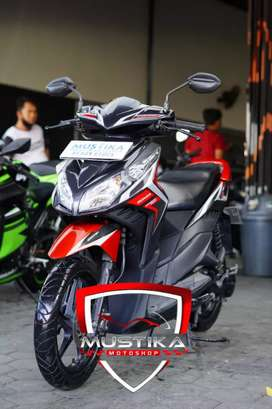 Honda Vario Tecno 2012 Plat N Kota-Mulus Terawat Murah Mustika Saiful