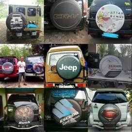 Cover/Sarung Ban Terios/Phanter/Suzuki Jimny/Rush/Murah Meriah#dORTMUN
