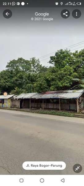 Dijual Tanah Pinggir Jalan Raya Parung Bogor
