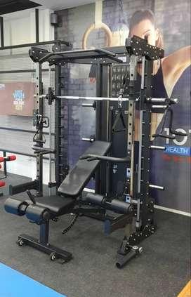 Alat Fitness Multy Gym + Adjust Bench Cilacap