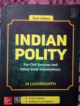 INDIAN POLITY M LAXMIKANTH