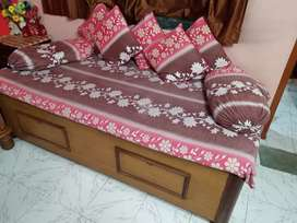 3 × 6 bed box with Mattress