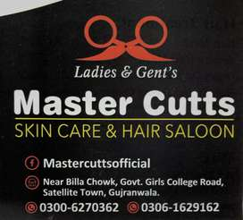 We need male and female saloon Staff