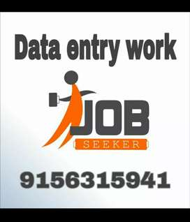 Great income platform for freshers people in data typing