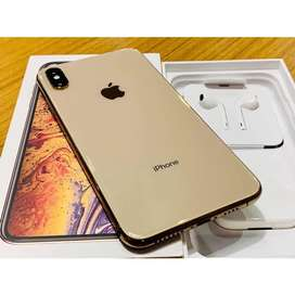 Iphone Xs max. 256gb Gold. 10/10mint condition. PTA approved.