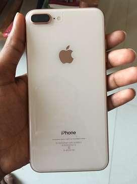 Iphone 8 plus(64 gb) gold