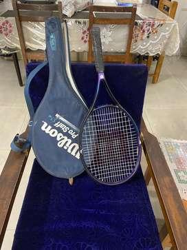 Lawn Tennis Racket - Wilson company