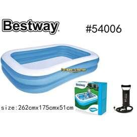 Bestway 54006 Kolam Renang Anak 262x175x51 Kolam Anak nxmc871h
