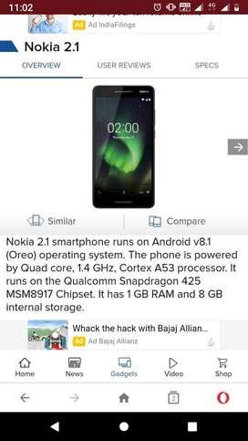 Nokia 2.1 edition