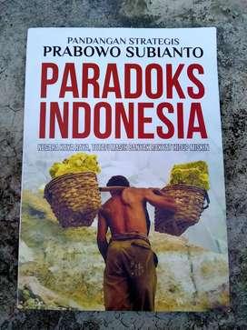 Buku Paradoks Indonesia oleh Prabowo Subianto