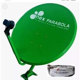 Pasang parabola mini