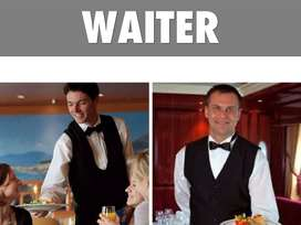 WE ARE LOOKING FOR A WAITER- STEWARD FOR HOTEL LOCATION HUBLI NOW CALL