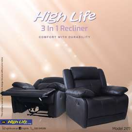 Durabale Imported Recliner(High Life)