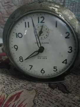 Big Ben westclox made in USA alarm