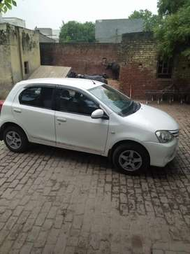 Toyota liva 2013 diesel km78000 change the car by new car