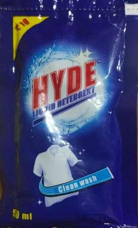Hyde Detergent Pouch 10/- MRP