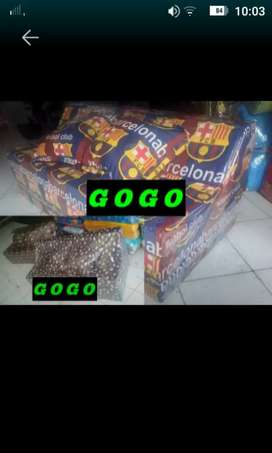 Kasur busa sofabed lipat murah no 3 10x120x180 ready