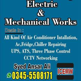 Ac install Shifting Service Ac Fridge Chiller Repairing Copper Piping