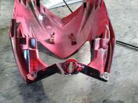 Service cover body motor dan mobil pecah / robek