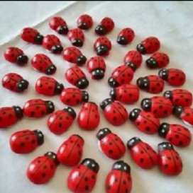 Artificial ladybugs for decoration