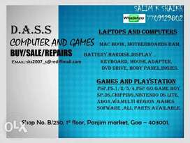 Buy sale repair all kind of computer laptop mobile